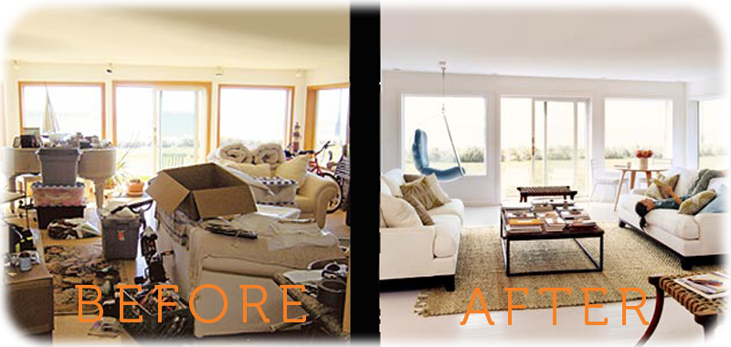 Before And After Living Rooms